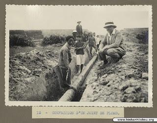 Hình ảnh xưa về hệ thống cấp nước ở Việt Nam năm 1933