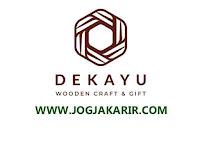 Loker Jogja Bulan Juli 2021 di Dekayu Indonesia