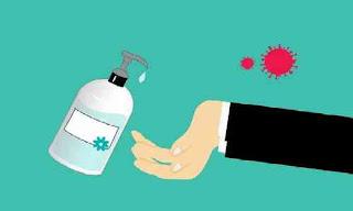 Cara Mencuci Tangan Menggunakan Hand Sanitizer Yang Benar