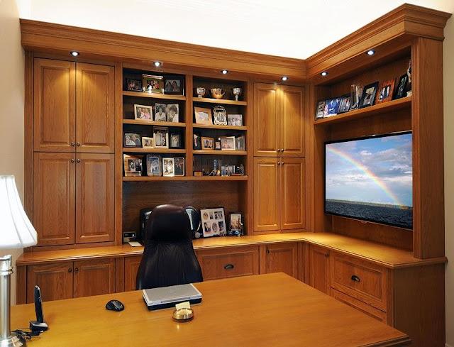 best wood custom home office desk ideas for sale online