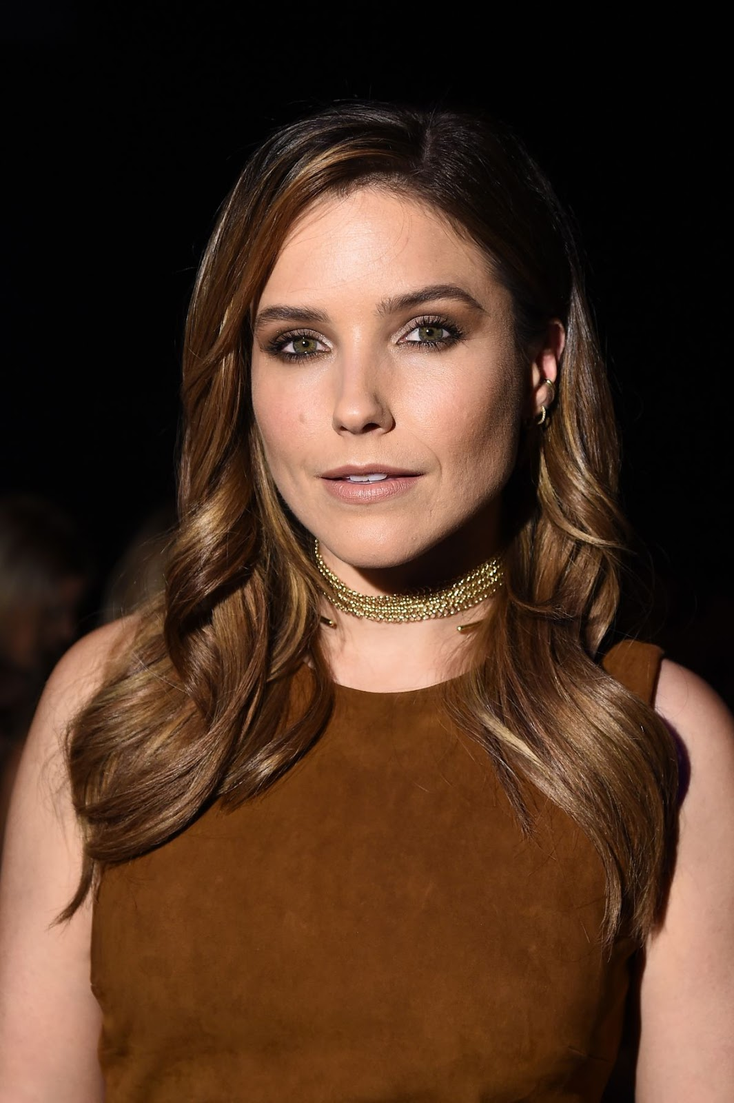 HQ Photos of 'Chicago Med' actress Sophia Bush At Cushnie Et Ochs Fashion Show At New York Fashion Week