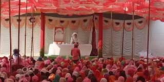 जय गुरु देव केम्प में सत्संग, सेकड़ो भक्तो ने लिया लाभ