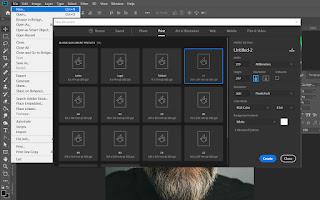 Membuat Folder Layer / Cara Group Layer Photoshop