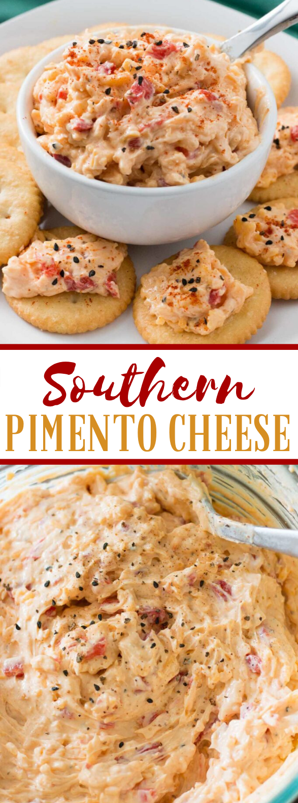 Southern Pimento Cheese #appetizers #snacks