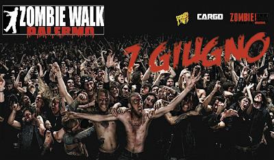 Zombie Walk Palermo: 7 Giugno 2013