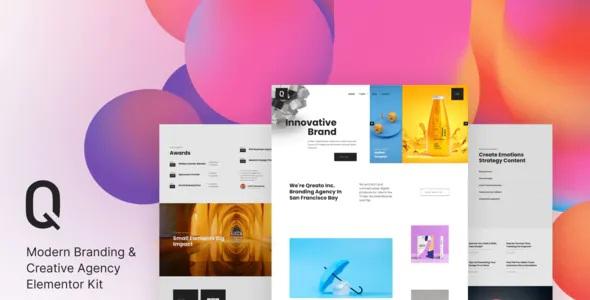 Best Branding & Creative Agency Elementor Kit