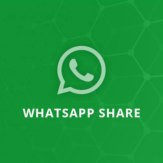 زر مشاركة واتساب whatsapp بلوجر