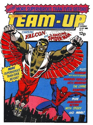 Marvel Team-Up #5, The Falcon and Spider-Man