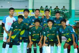 Tampil Gemilang di Fase Grup, Smanet Venom Boys Tumbang di 8 Besar Turnamen Futsal di Palopo