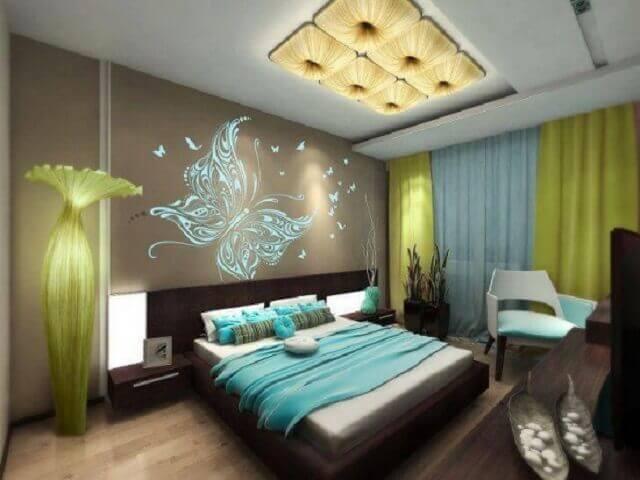 Romantik yatak odası dekorasyon örnekleri 5
