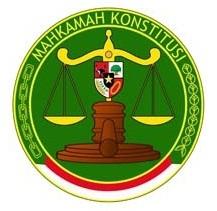 Logo Mahkamah Konstitusi Republik Indonesia