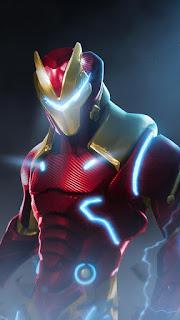 Fortnite Marvel Iron Mobile HD Wallpaper