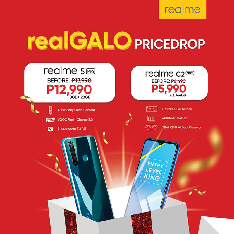 Price cut along with the realme C2 2020