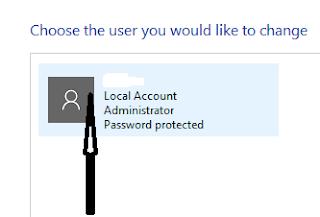 Selected user