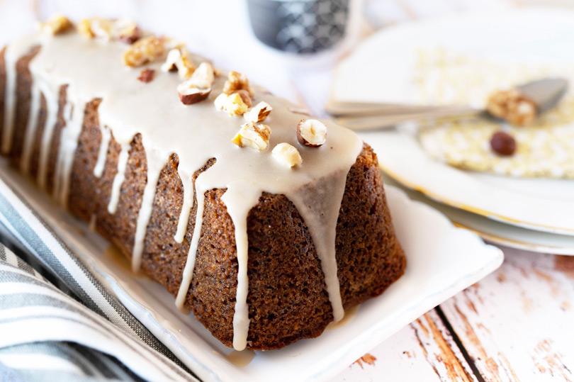 recette cake noix et café