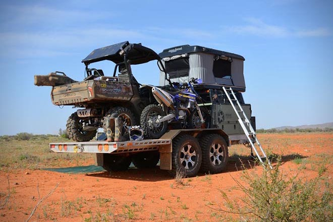 Patriot Th 610 Off Road Toy Hauler Gear We Want