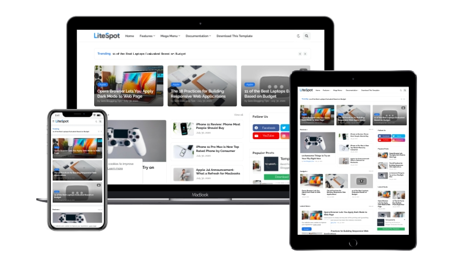 litespot-premium-responsive-blogger-template-demo
