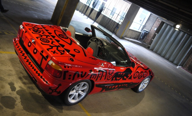 A. R. Penck art car