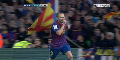 LFP-Week-31 : Barcelona 2 vs 0 Athletic Bilbao 31-03-2012
