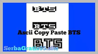 Ascii Art Copy Paste BTS