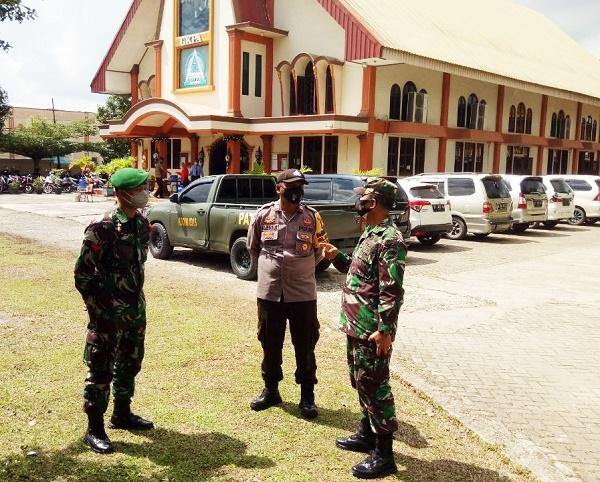 Kapten Inf Hendri Pimpin Langsung Pengamanan Ibadah Natal, 4 Kecamatan di Batam