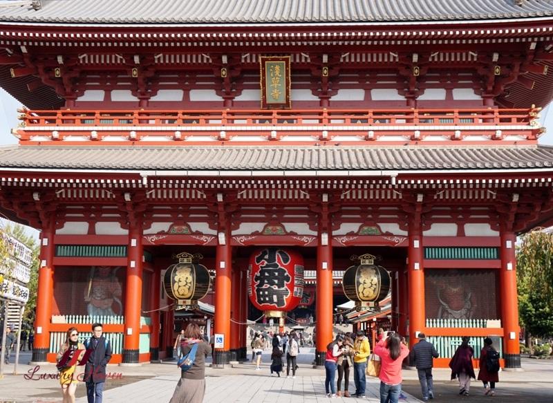 sensoji asakusa kannon temple hozomon gate