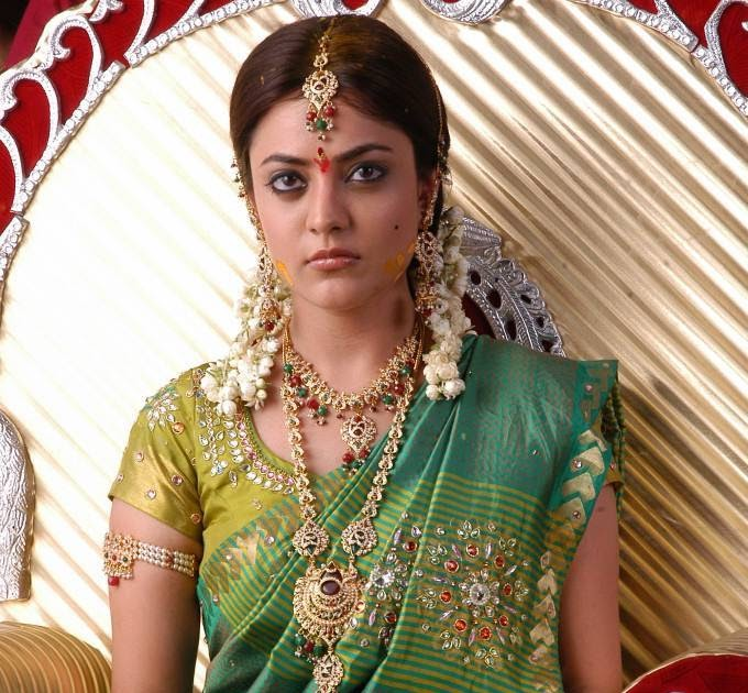 Actress Nisha Agarwal Traditional Saree Photos