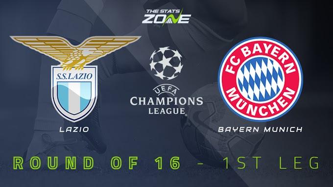 Watch Lazio vs Bayern Munich - UEFA Champions League live streaming