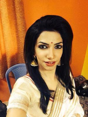 Indian TV Anchor