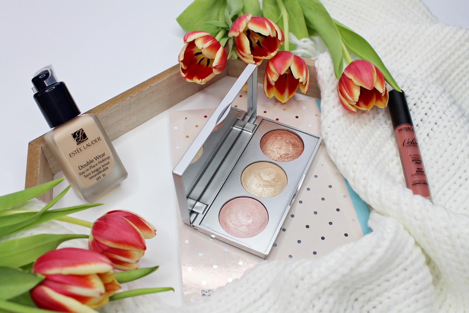 Golden Rose, Strobing Highlighter Palette | Paleta świetnych rozświetlaczy za grosze!?
