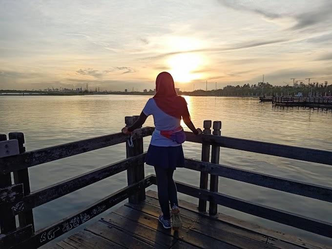Manfaat Olahraga di Pagi Hari Sambil Mengejar Matahari di Pantai Ancol