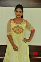Teja Reddy in Anarkali Dress at Javed Habib Salon launch ~  Exclusive Galleries 011.jpg