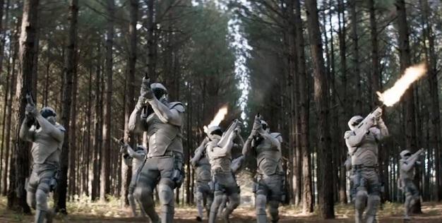 dauntless soldiers vs peacekeepers   SpaceBattles Forums