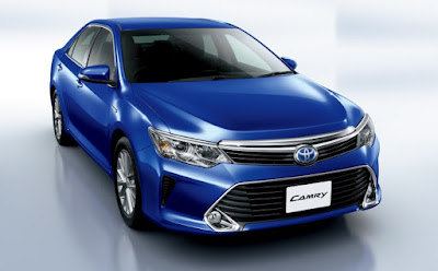 2017 Toyota Camry blue image