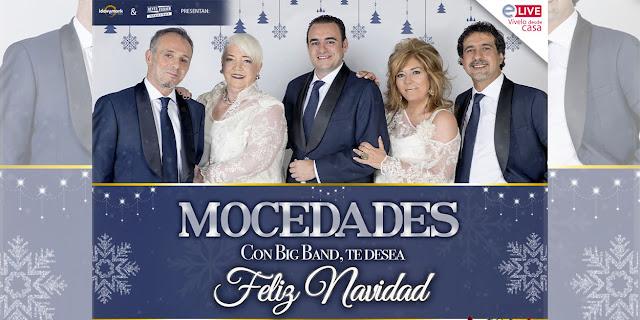 """El Grupo Mocedades presentará en streaming su """"Mocedades Con Big Band, Te Desea Feliz Navidad"""""""