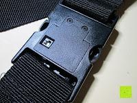 Rückseite: Neon-Strength kofferband/gepäckgurt mit TSA-Schloss