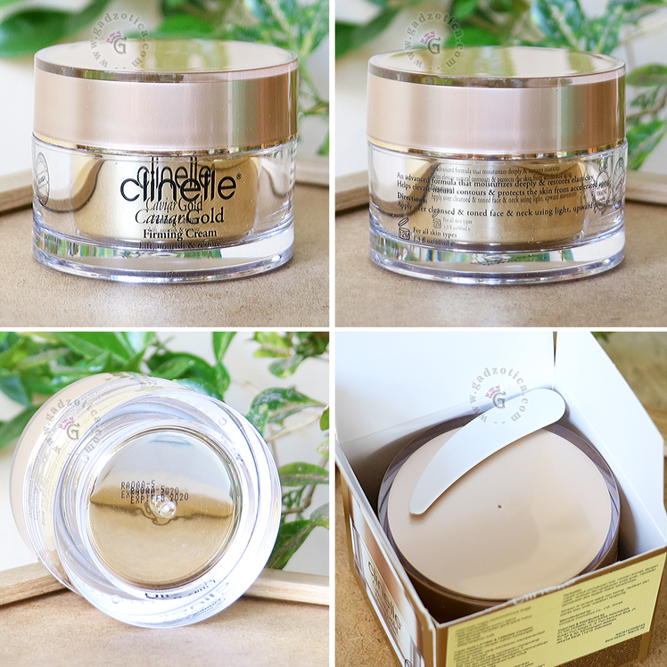 Review Clinelle Caviar Gold Firming Cream