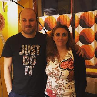 Rosario Esposito La Rossa ed Elena Genero Santoro