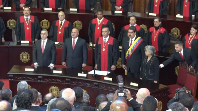 Nicolás Maduro comenzó su segundo período presidencial