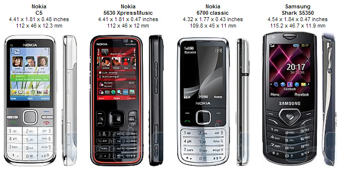 Nokia Mobiles: New Nokia C5 Moblie