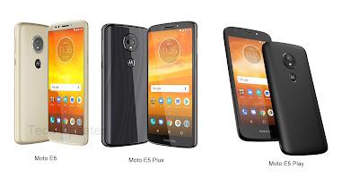 Moto E5 vs Moto E5 Plus vs Moto E5 Play