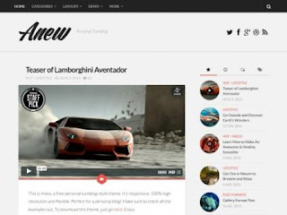 SEO Theme Wordpress Responsive Terbaru Fee Download - Anew