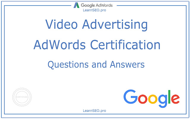Video Advertising Certification