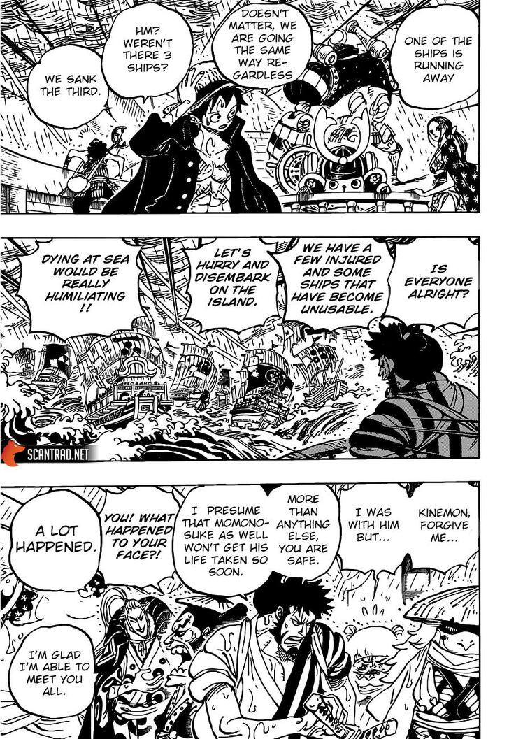 One Piece Manga Chapter 976 - Image 012