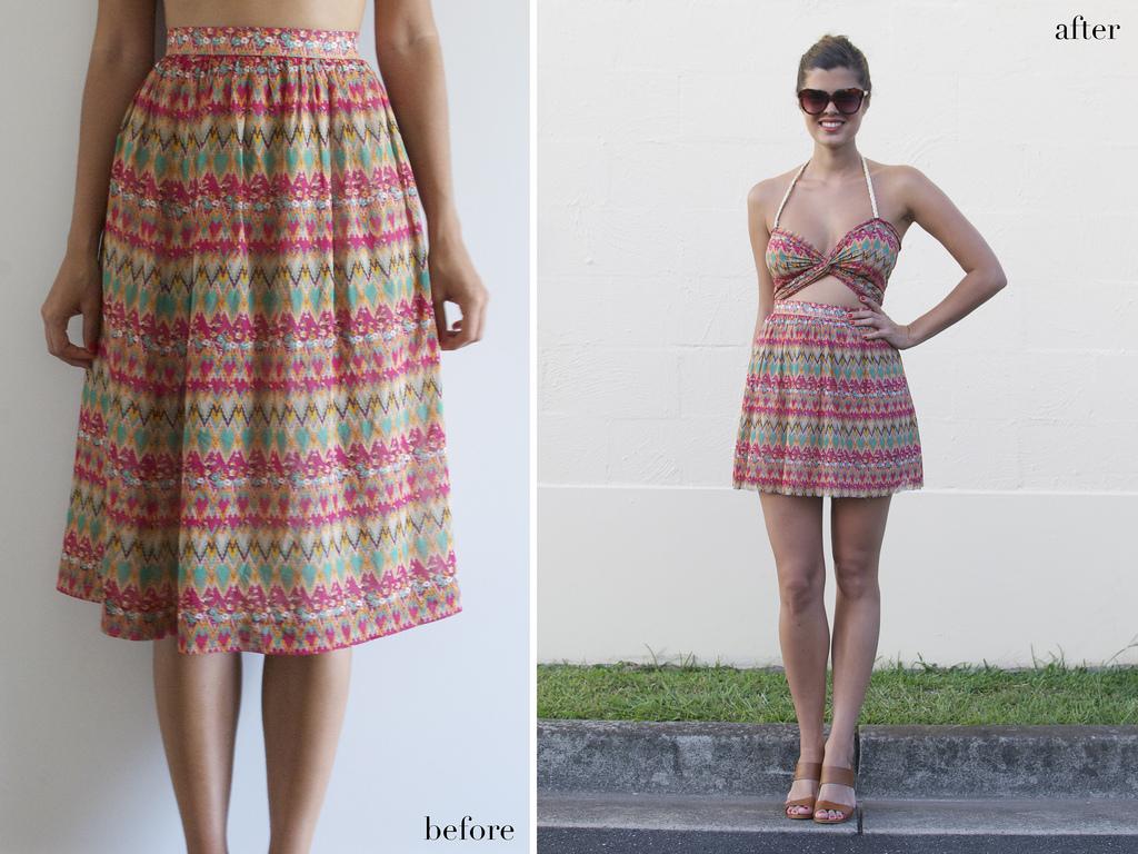 hocus.kocis: DIY. printed cut out dress.