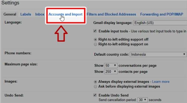 cara mengganti nama email di pc