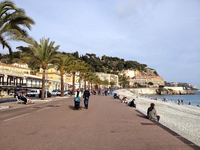 descansando en Niza