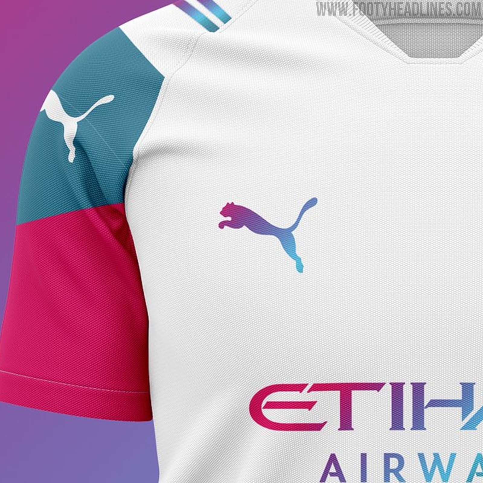 How The Puma Manchester City 21 22 Away Kit Could Look Like