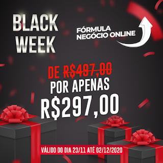 Black Friday Fórmula Negócio Online - FNO  - Cupom de Desconto Black Week