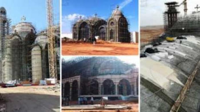صور الكنيسه الاكبر فى الشرق الاوسط .. الانتهاء من تشطيبات كنيسة العاصمة الإدارية الجديدة أول يناير المقبل